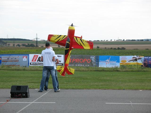 Z modelářského letiště v Hlubokých Mašůvkách
