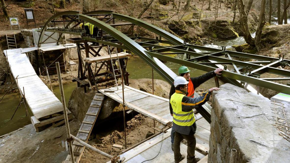 Nový most v Hřensku