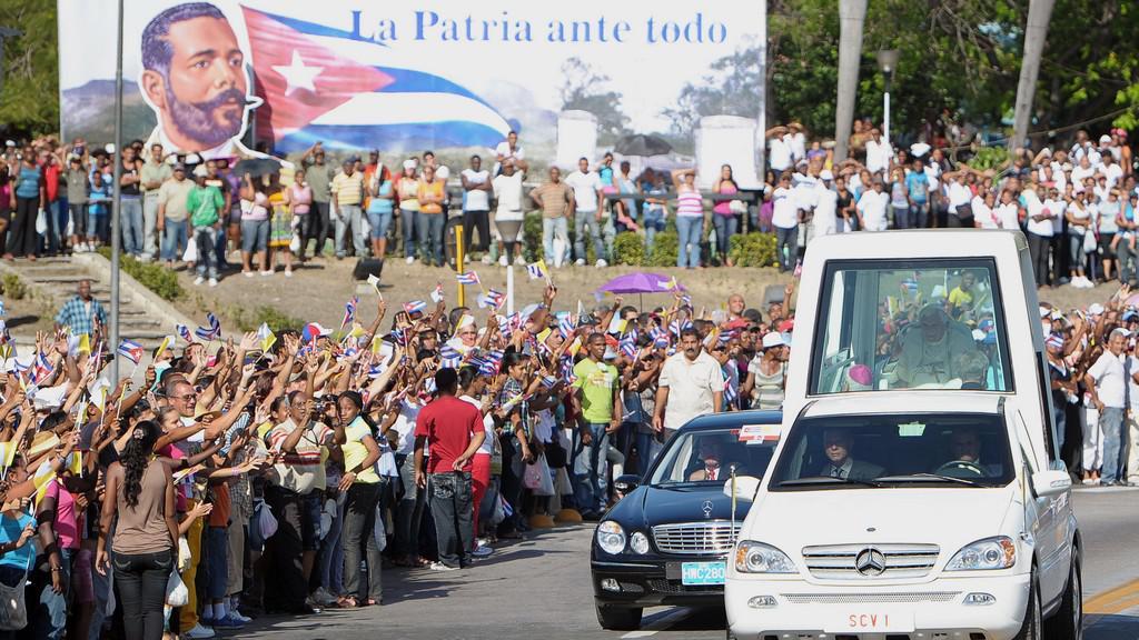 Papež na Kubě