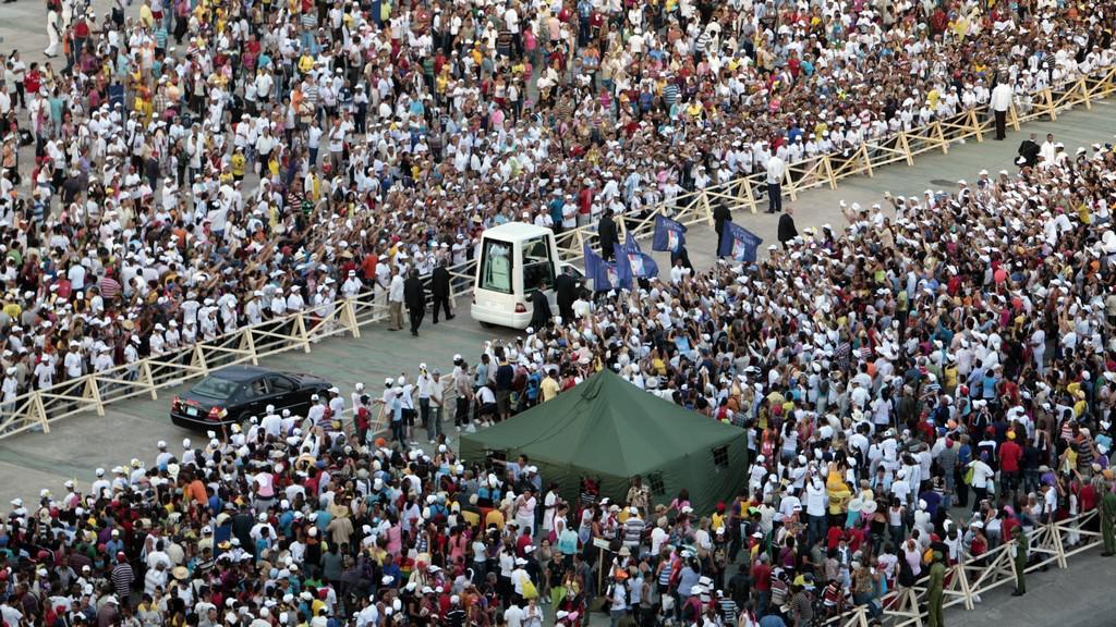 Papežova návštěva Kuby