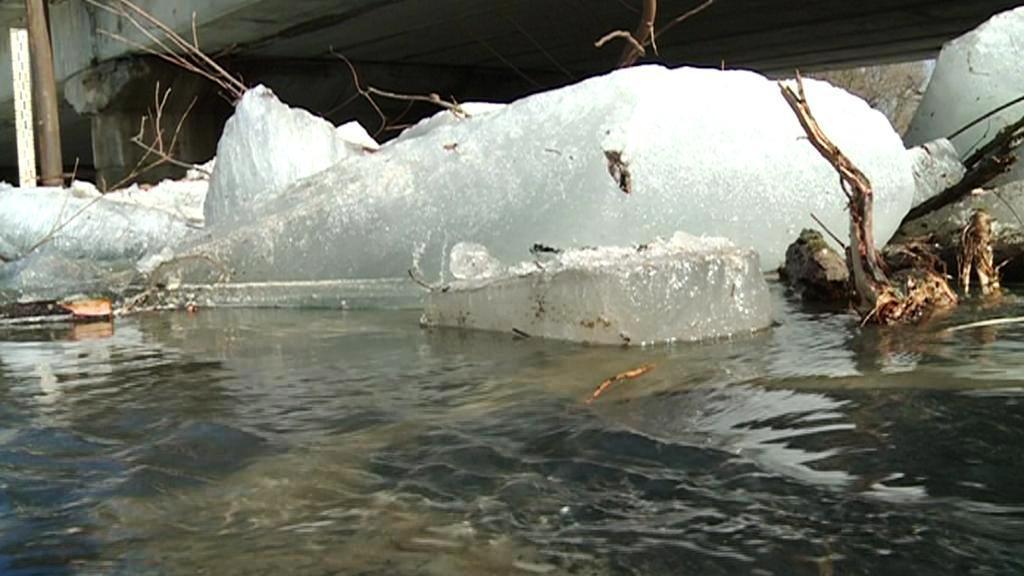 Tání ledu - ledové kry