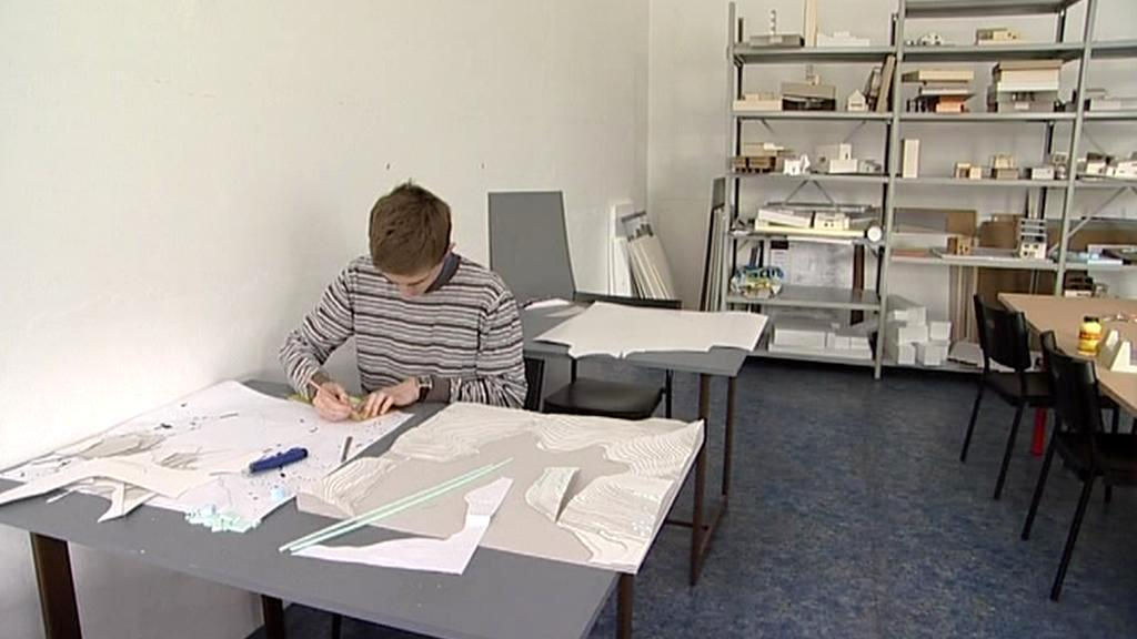 Student architektury Adam Lukačovič