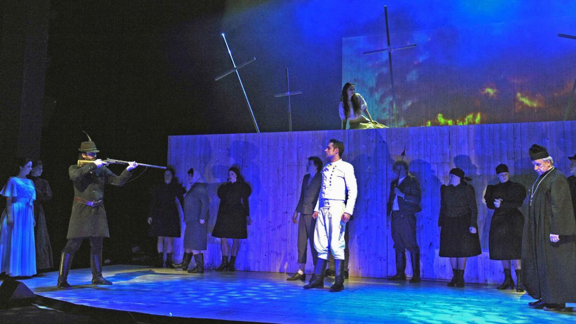 Divá Bára v Městském divadle Brno