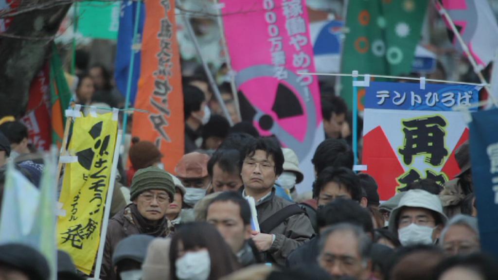 Protesty Japonců proti jádru