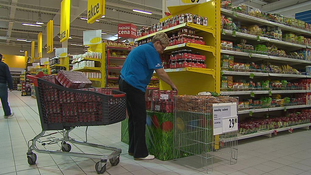 Výdej zboží v obchodě