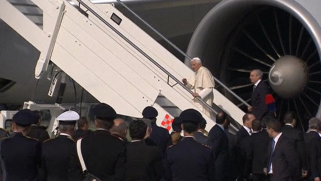 Papež míří do Mexika a na Kubu
