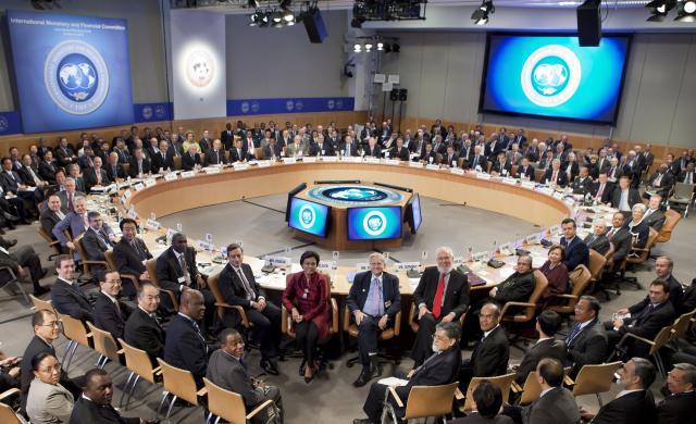 Zasedání MMF a Světové banky