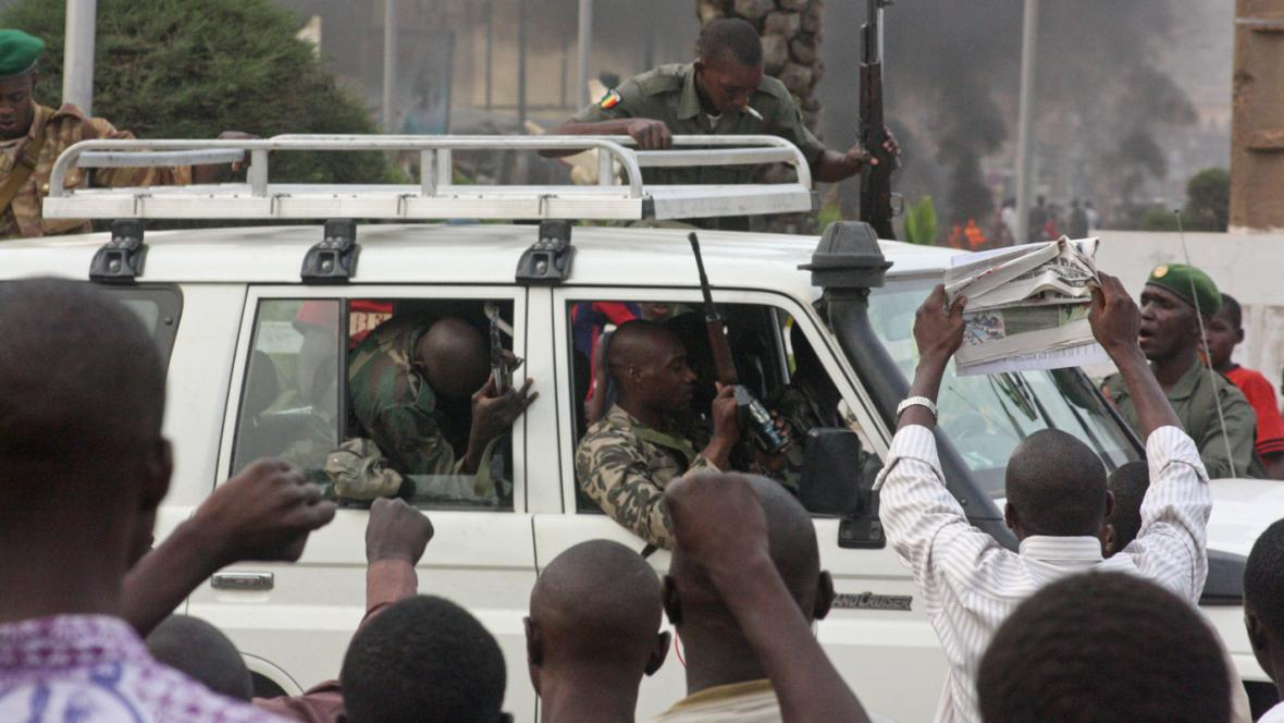 Převrat v Mali