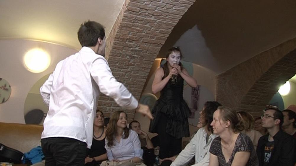 Divadlo v karanténě na Brněnském lunaparku 2012