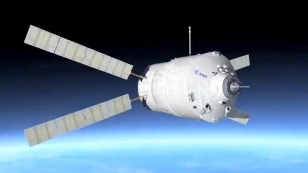 Vesmírná nákladní loď Johannes Kepler