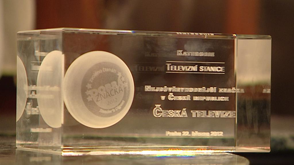 Dobrá značka 2012 pro Českou televizi