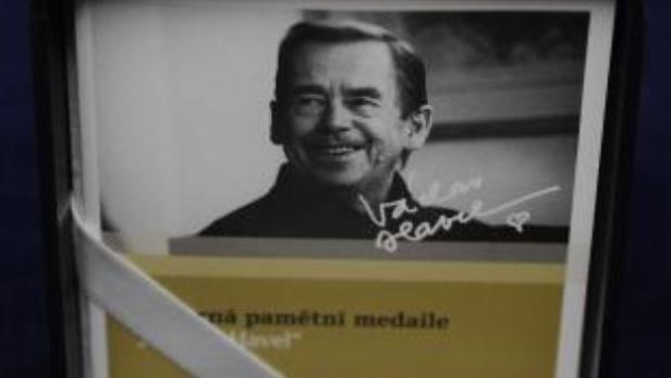 Pamětní medaile Václava Havla