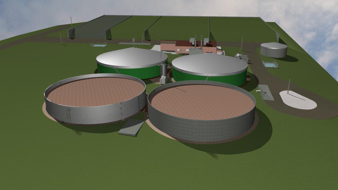 Bioplynová stanice Libkova Voda