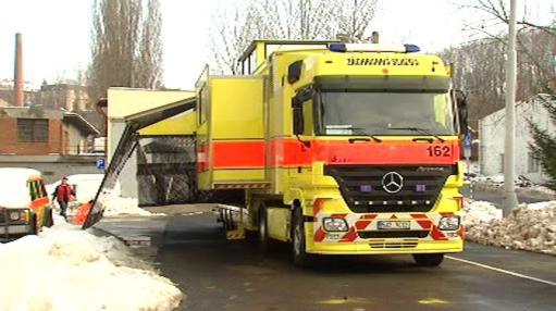 Záchranný kamion Golem