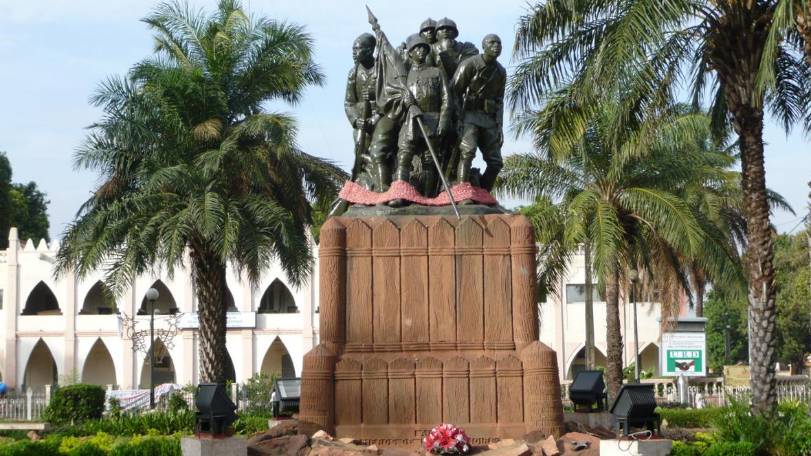 Náměstí svobody v maliské metropoli Bamako