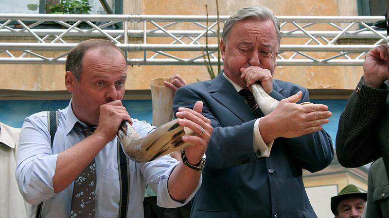 Muži v říji - Igor Bareš a Jiří Lábus