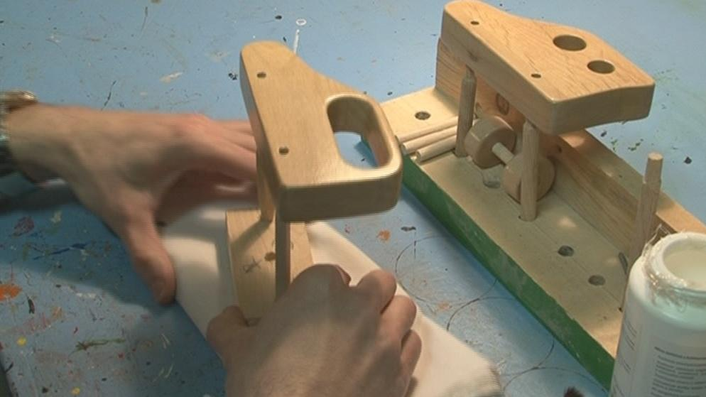 Výroba hraček vězni