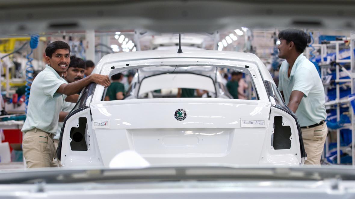 Škoda Auto v Indii