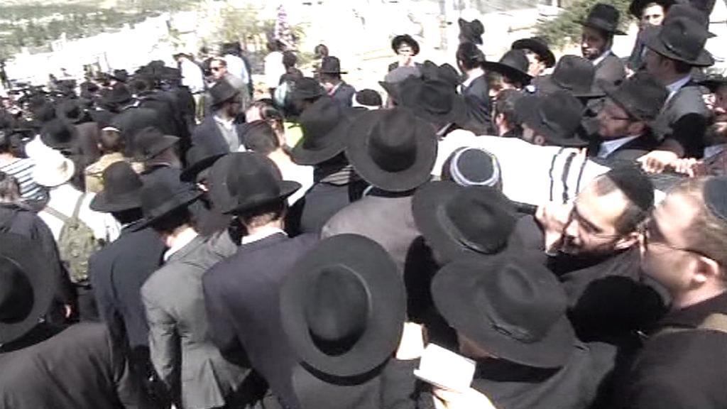 Pohřeb židovských obětí z Toulouse
