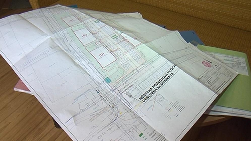 Plány výstavby v lokalitě Zlatá Hora