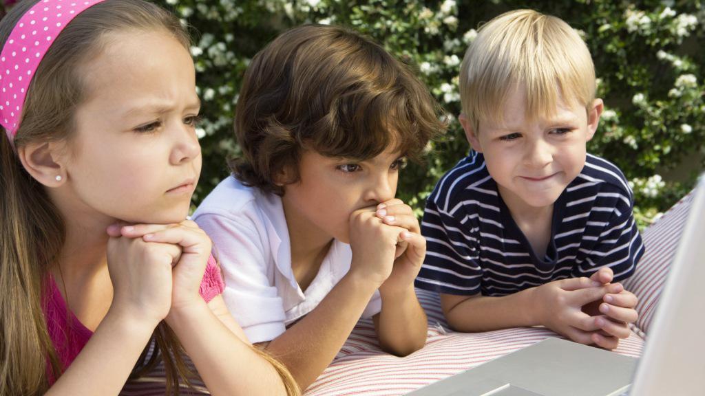 Děti na webu