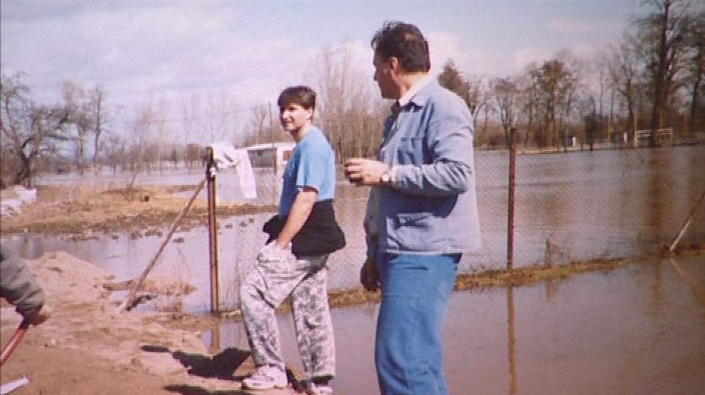 Povodně ve Cvrčovicích 2006