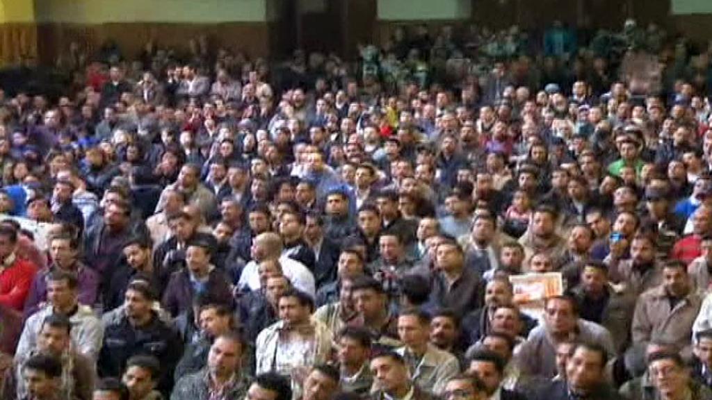 Pohřeb koptského duchovního Šenudy III.
