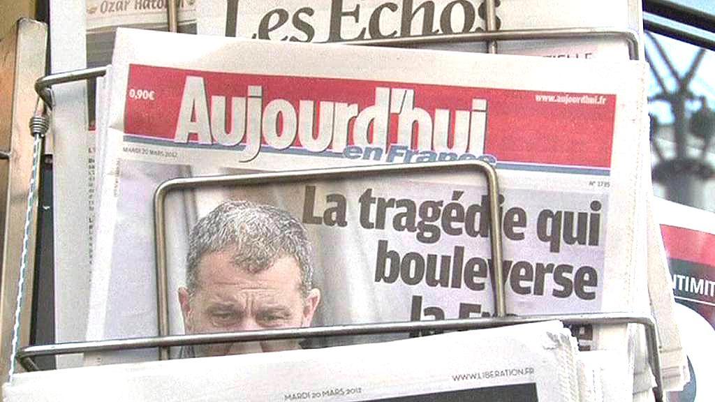 Francouzský tisk o střelbě v Toulouse