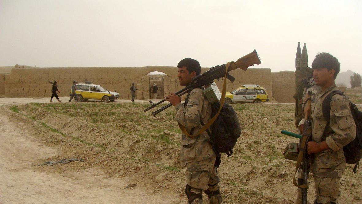 Dům, kde americký voják zabil 16 civilistů