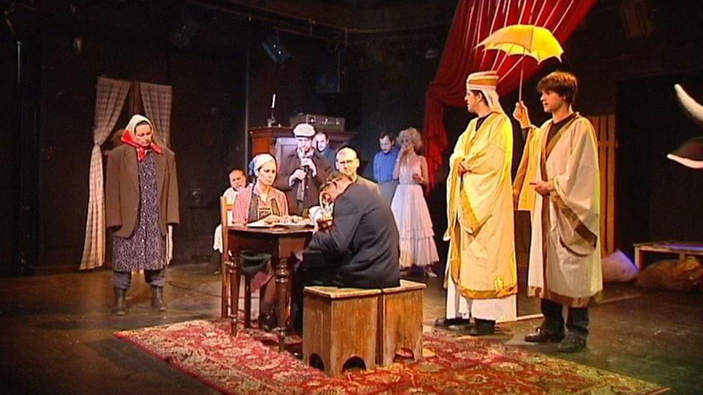 Fotografie z divadelního představení