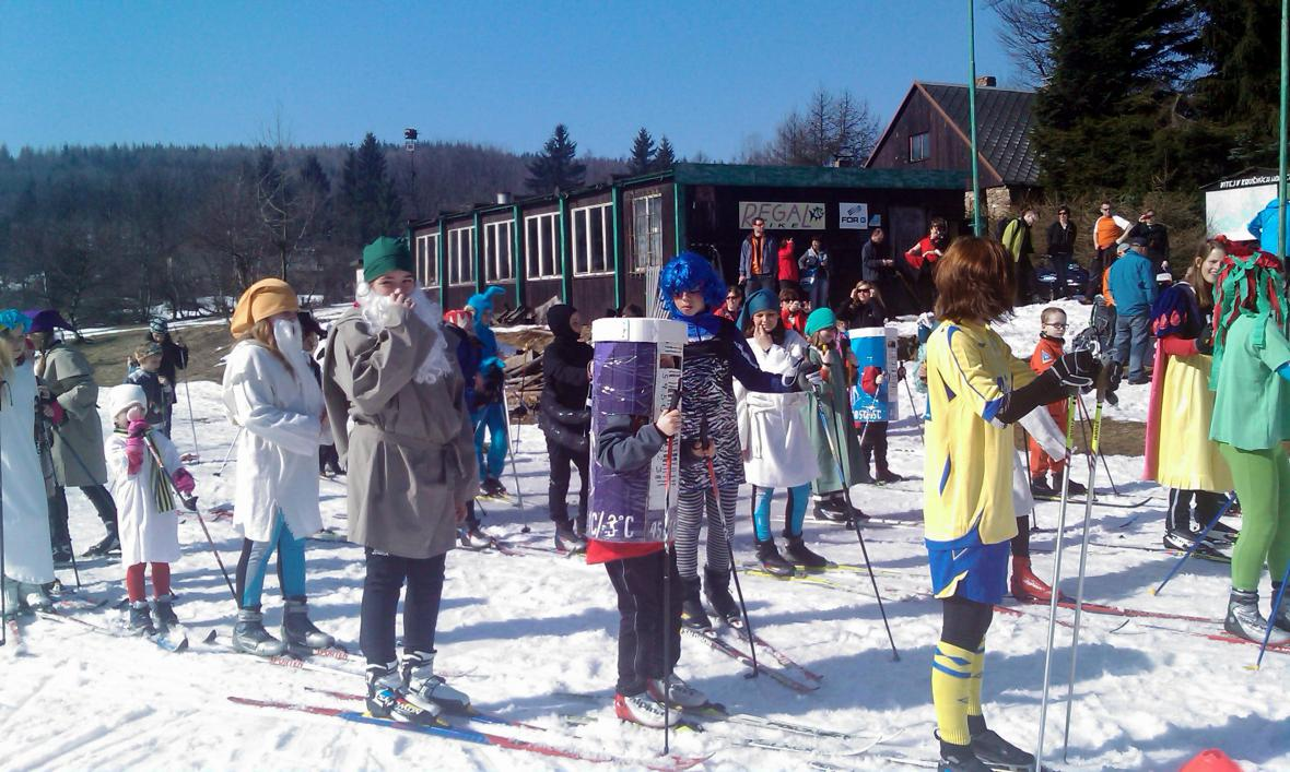 Karnevalové rozloučení se zimou