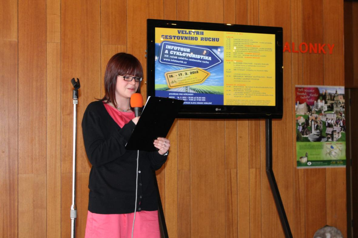 Ze studentské prezentace Svazku měst a obcí Krkonoše
