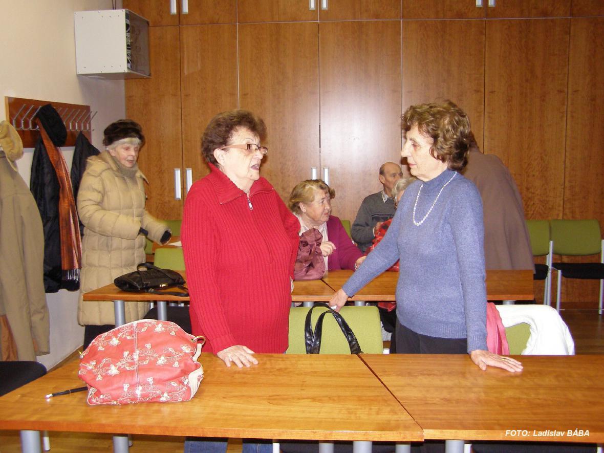 Ze schůzky lounské pobočky Spolku rodáků a přátel města