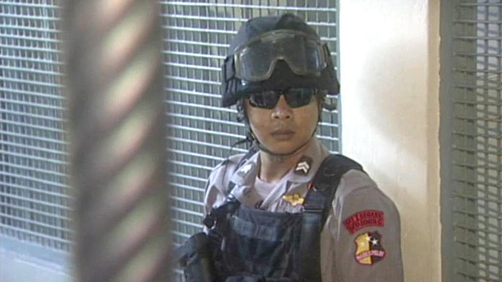 Indonéský policista