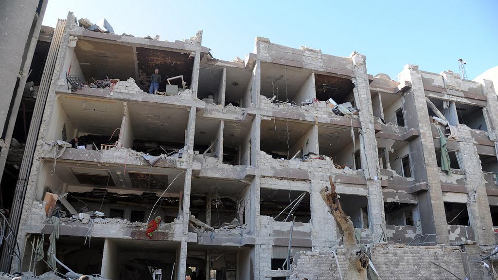 Exploze v Damašku