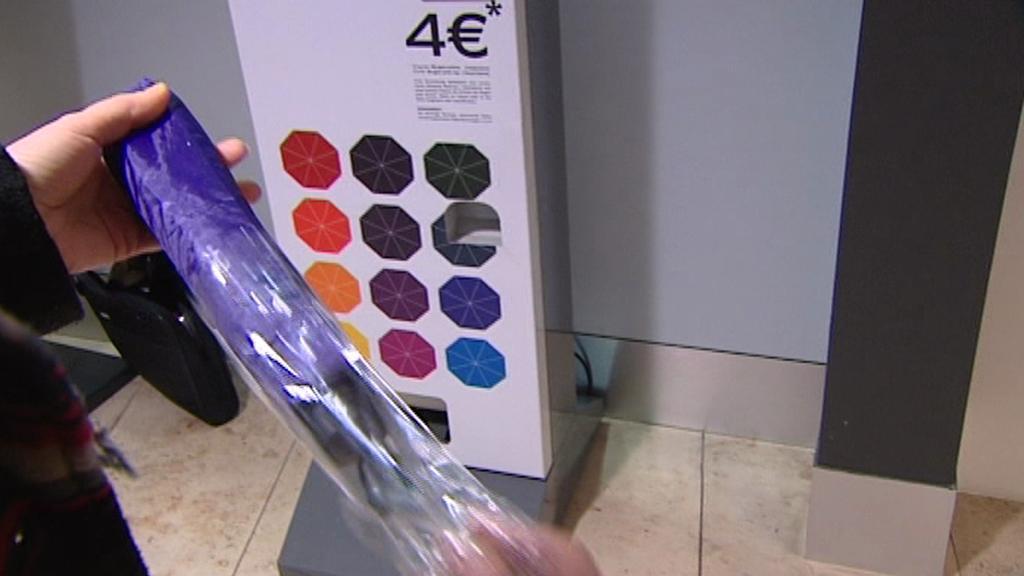 Automat na deštníky