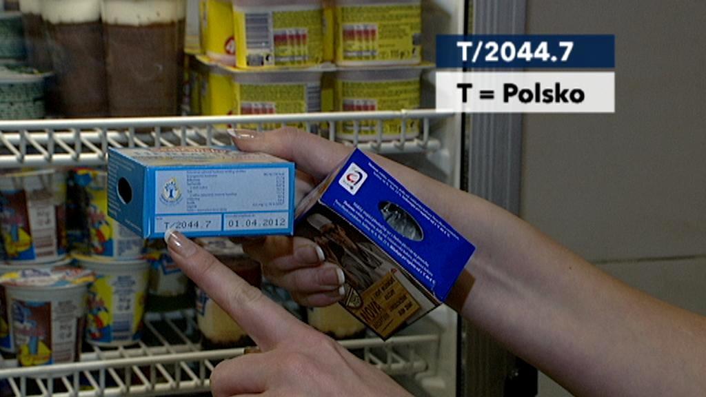 Sedlčanské hermelíny, jeden z Čech a druhý z Polska