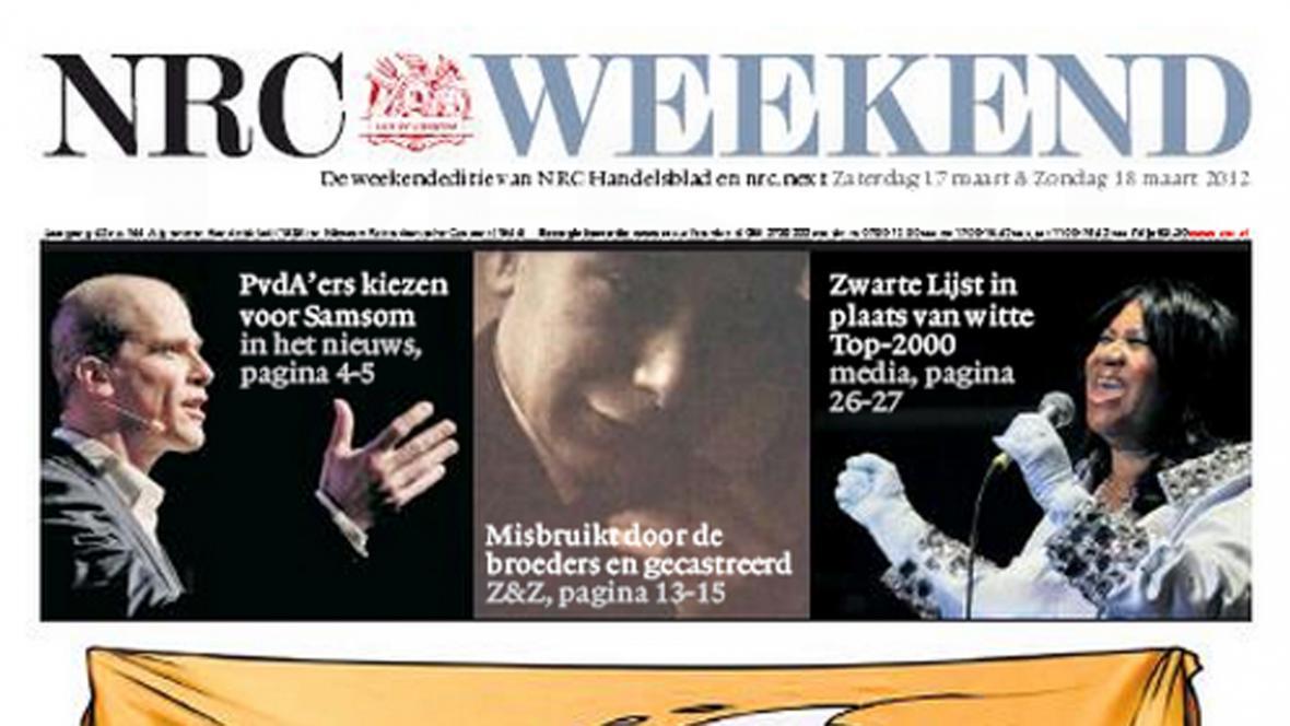 NRC Handelsblad ze 17. března