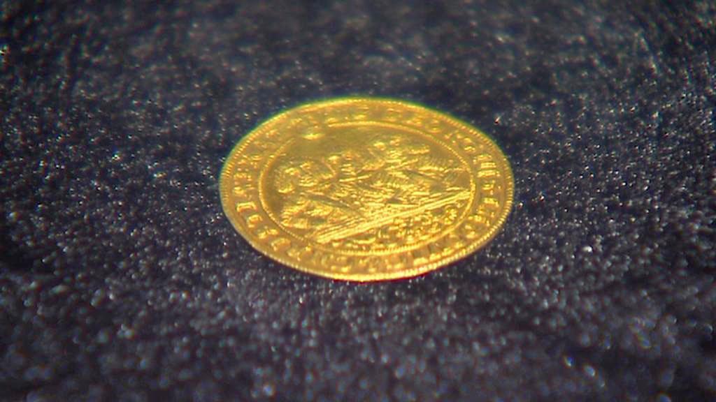 Zlatá mince v Prácheňském muzeu