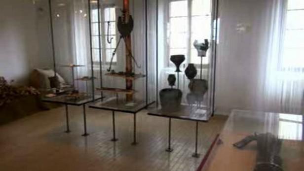 Expozice pravěku v Muzeu Kolín