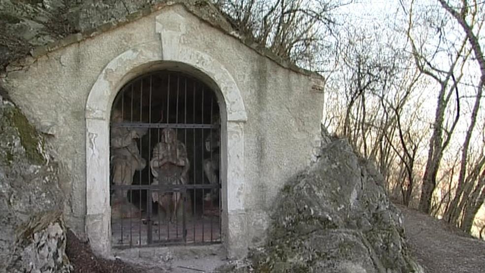 Kaplička na křížové cestě v Mikulově