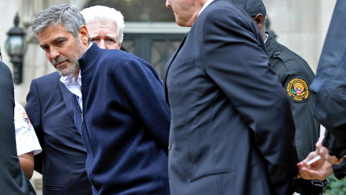 Americká policie zatkla George Clooneyho