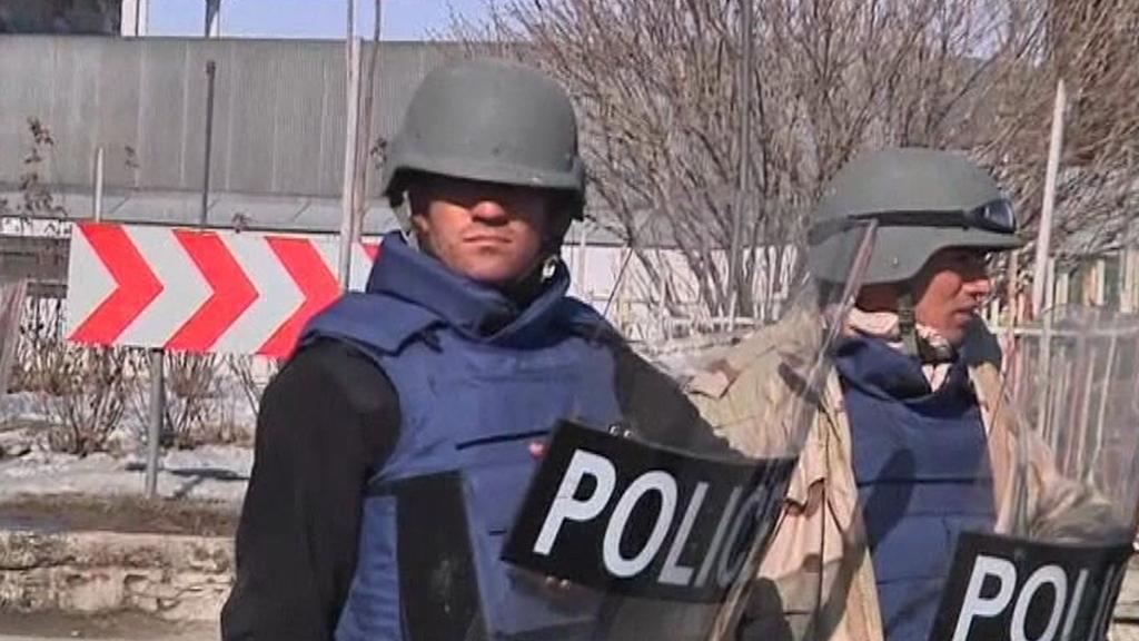 Policie v Afghánistánu
