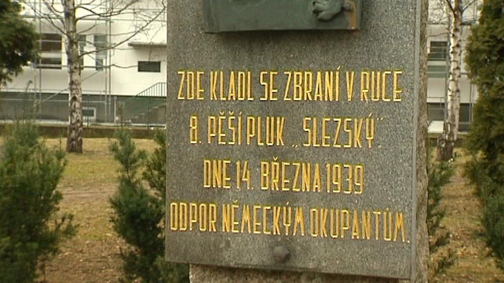 Památník přestřelky v Místku