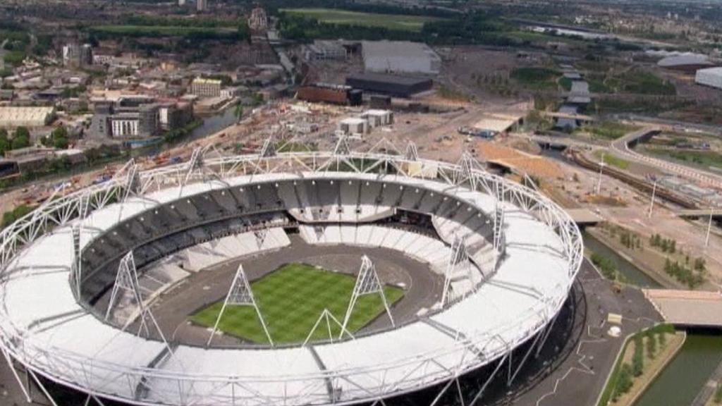 Olympijský stadion v Londýně