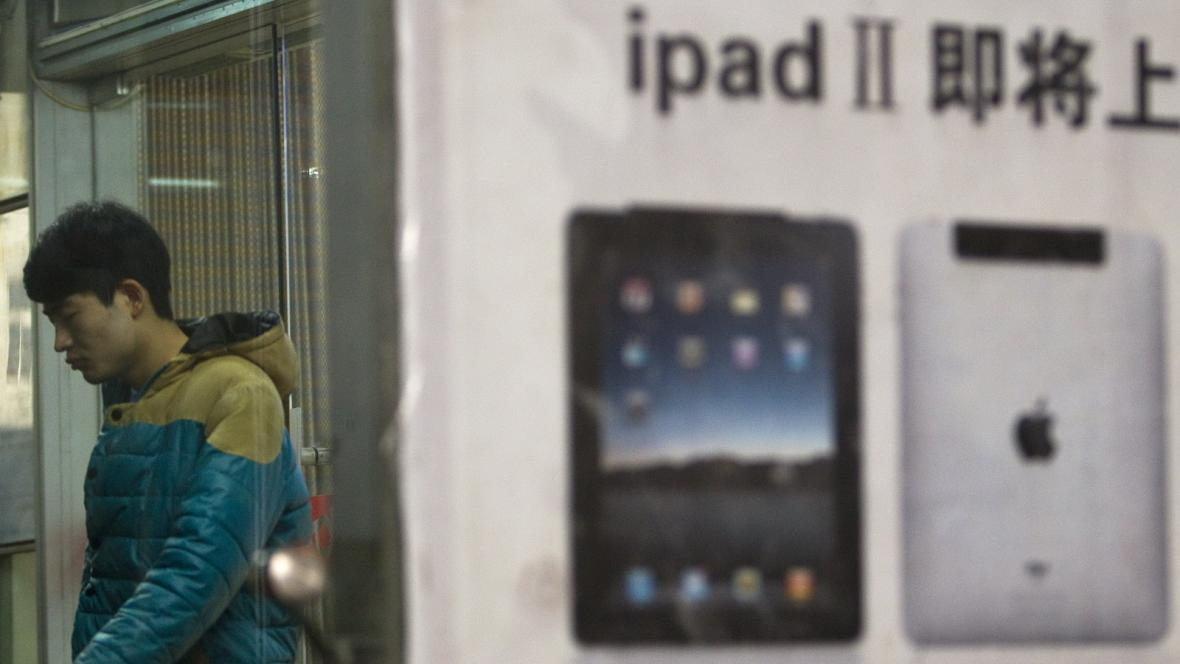 iPad v Číně