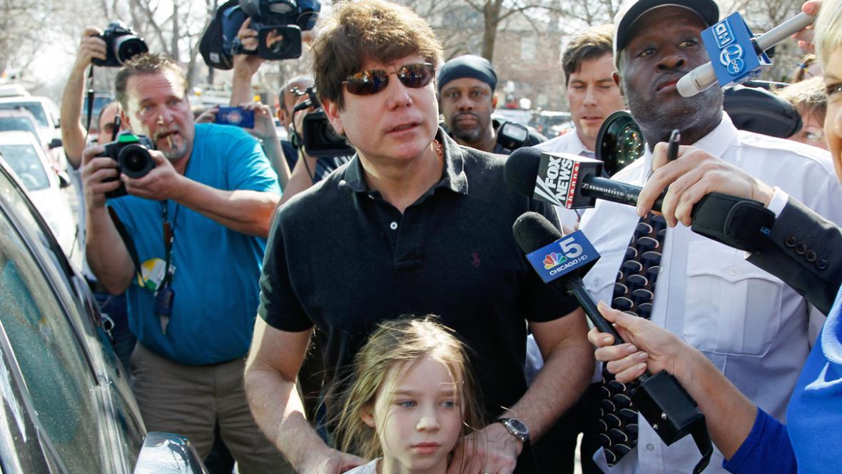 Rod Blagojevich s dcerou Annie