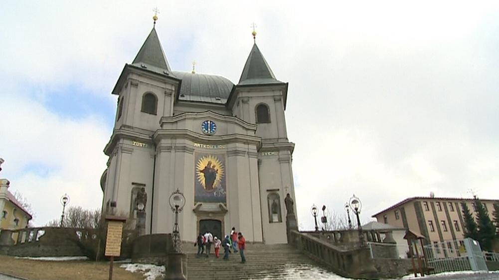 Bazilika na Svatém Hostýně