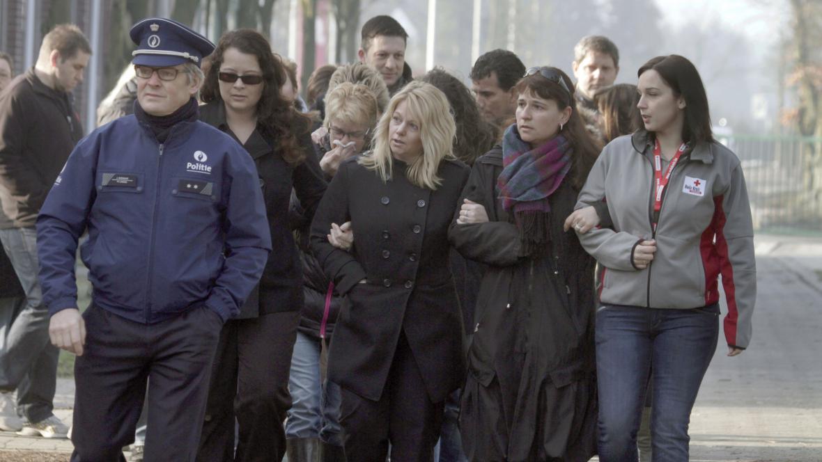 Příbuzní obětí nehody belgického autobusu