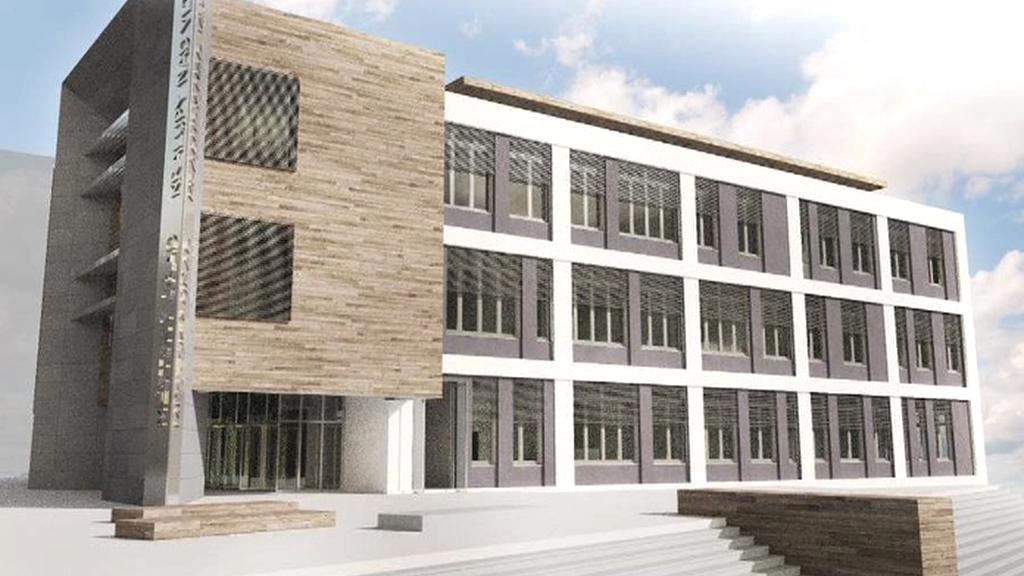 Vizualizace nové radnice v Kralupech nad Vltavou